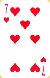 Краткое значение игральных карт для гадания 17
