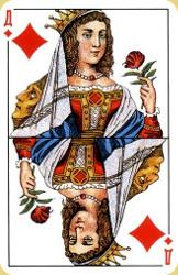 Краткое значение игральных карт для гадания 3